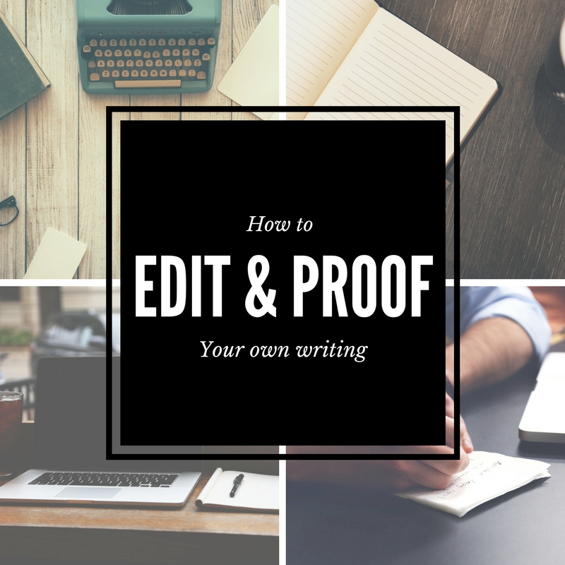 editing your own essay Essay editing has a peculiar psychological feature: people tend to overlook a lot of things when they edit their own  the request to edit your essay is a.